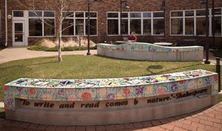 Marvelous Artisan Architectural Ceramics Outdoor Reading Garden Spiritservingveterans Wood Chair Design Ideas Spiritservingveteransorg